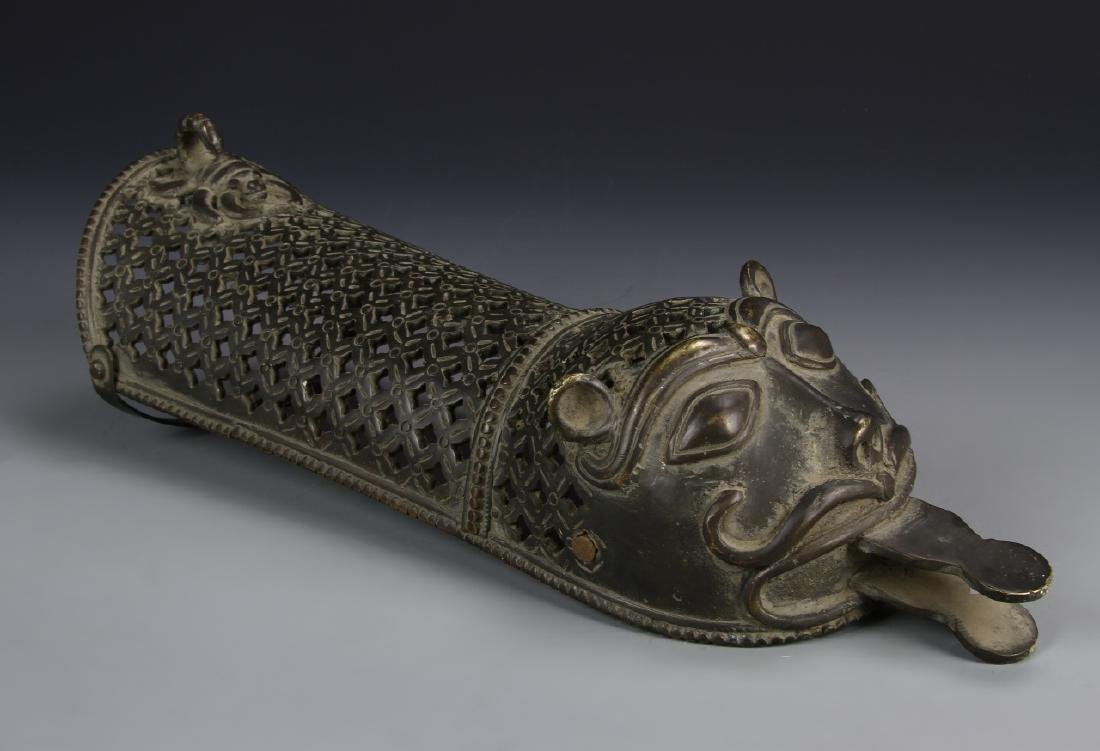 Old Indian Hand Armor Guard