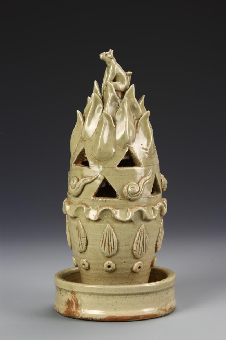 Chinese Six Dynasty Yue Yao Incense Burner