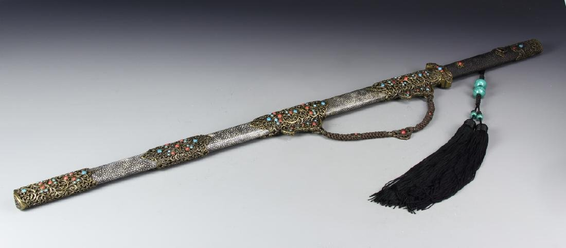 Chinese Tang Style Sword With Box
