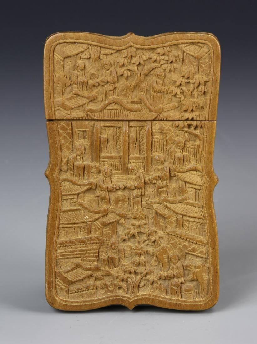 Chinese Boxwood Box