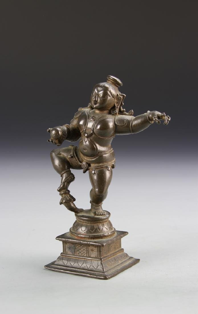Chinese Tibetan Bronze Figure