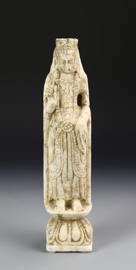 Chinese Sand Stone Buddha