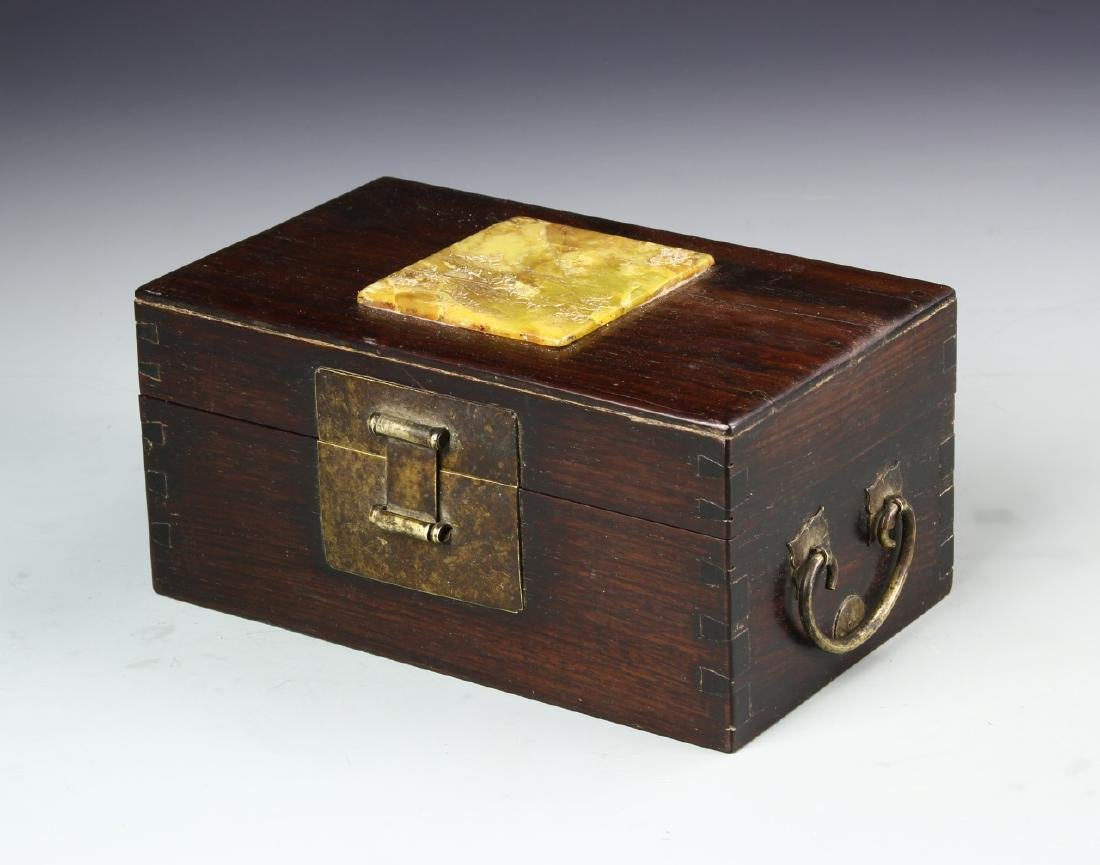 Chinese Shoushan Scholar Box