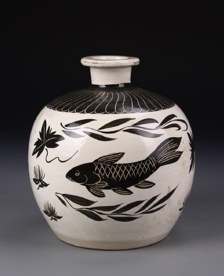 Chinese Cizhou Jar