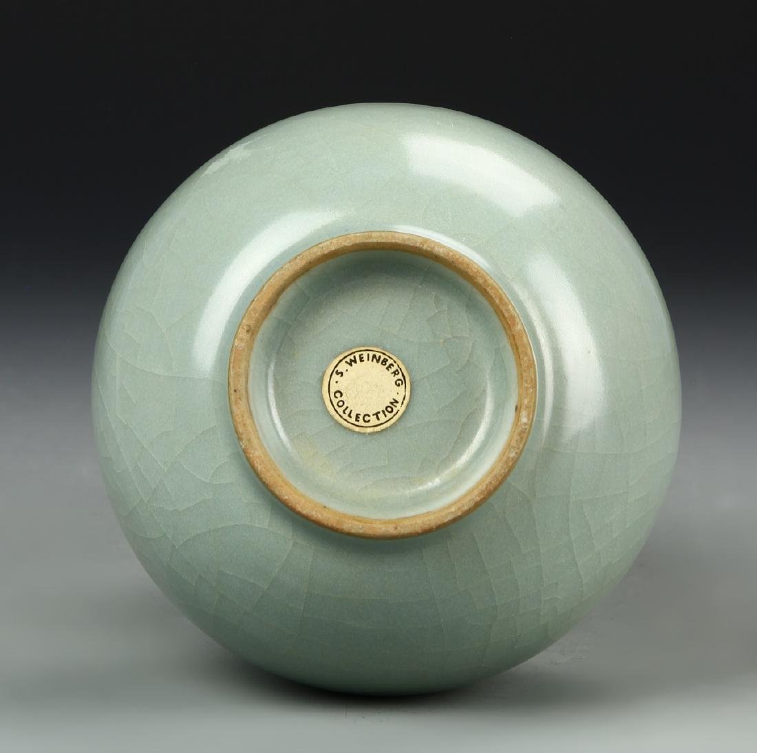 Longchuan Celadon Double-Gourd Vase, Yuan - 5
