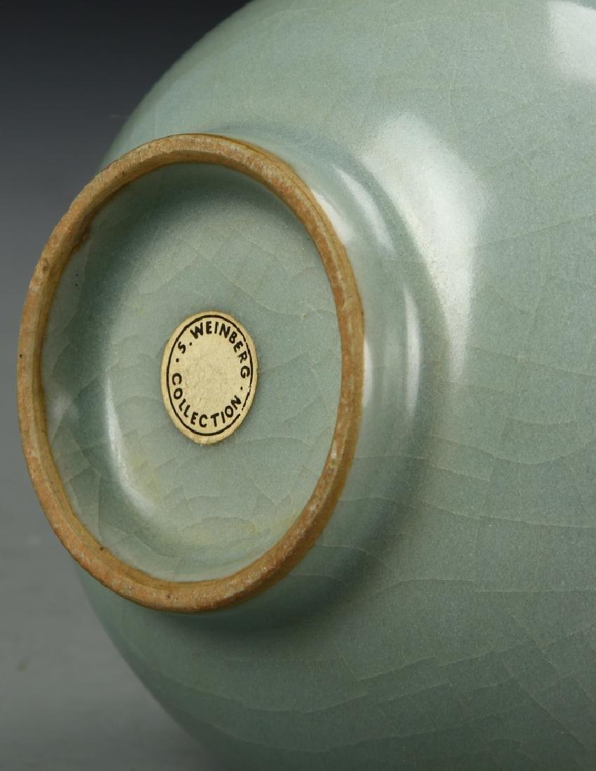 Longchuan Celadon Double-Gourd Vase, Yuan - 6