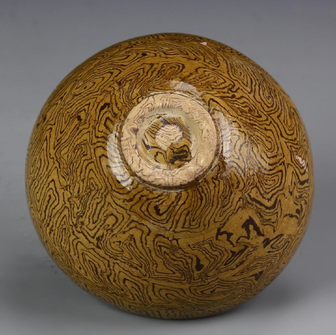 Chinese Marble-Glazed Bowl - 3