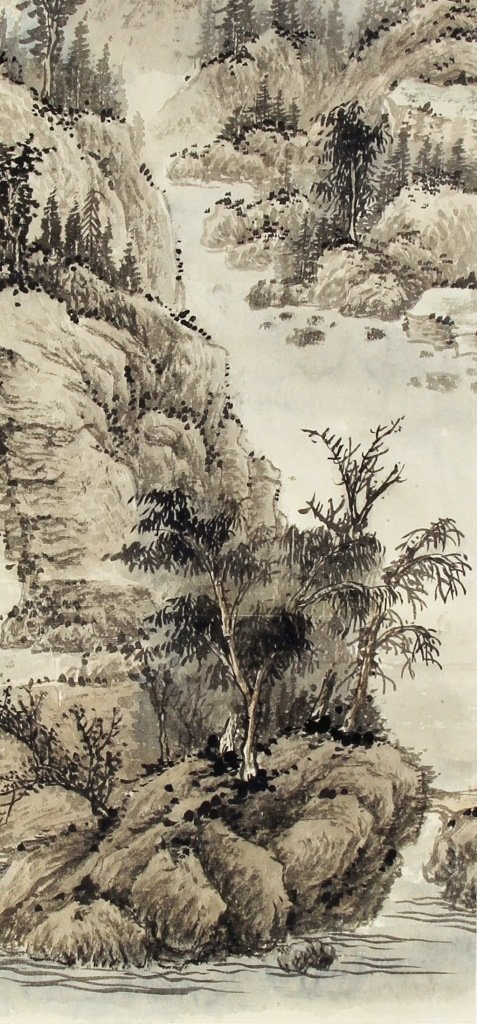 Chinese Scroll Painting, Chen Shao Mei - 2
