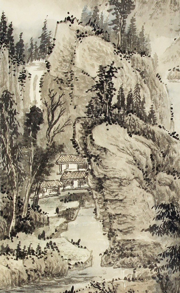 Chinese Scroll Painting, Chen Shao Mei - 3