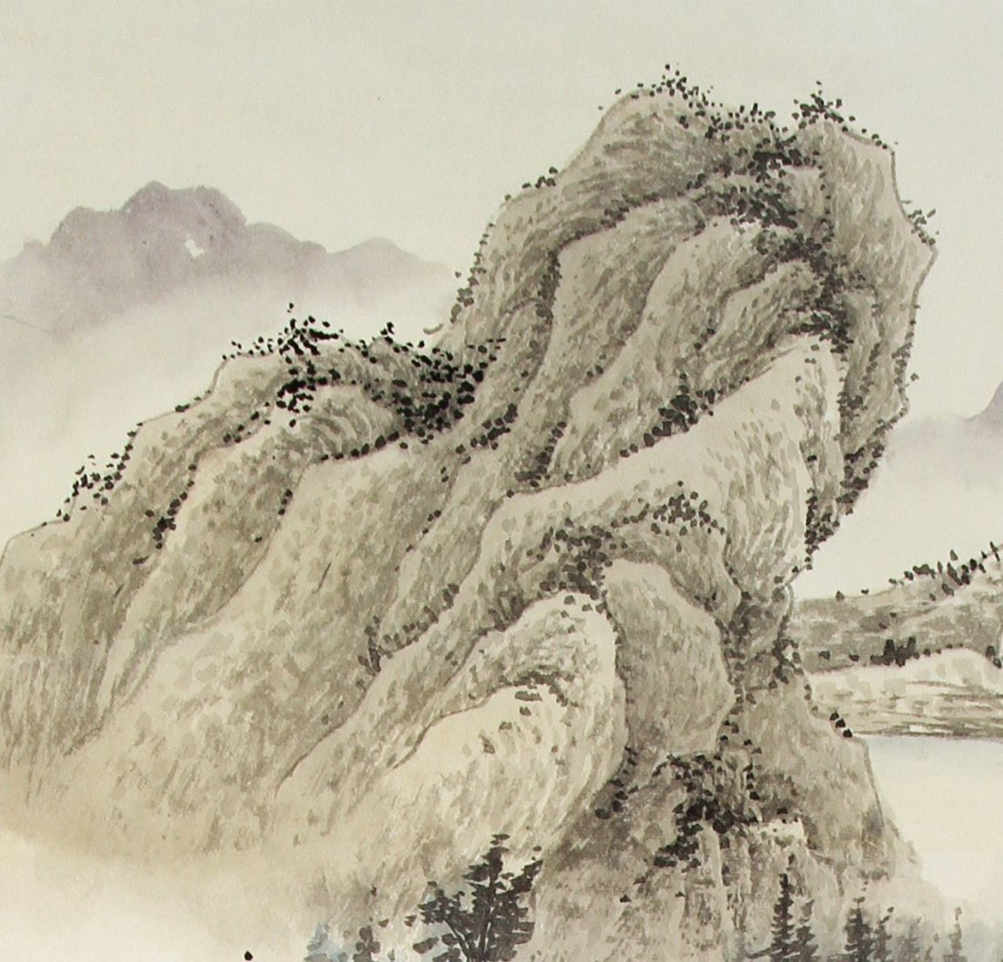 Chinese Scroll Painting, Chen Shao Mei - 4