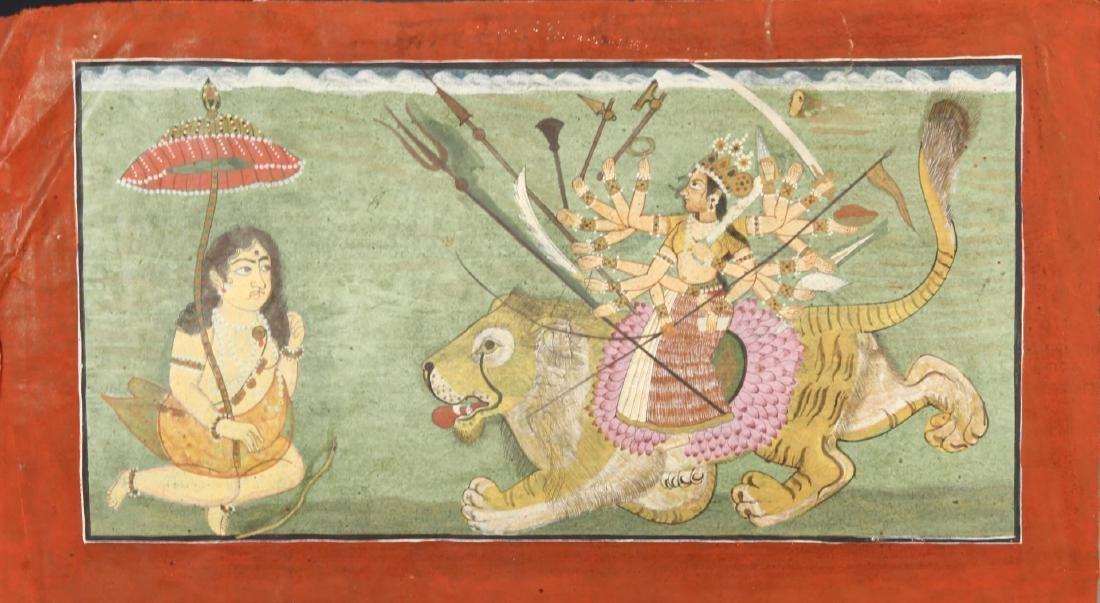 Indian Rajasthani Miniature Painting