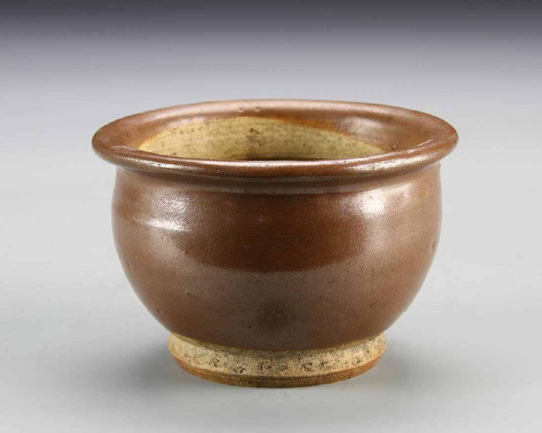 Chinese Antique Brown Bowl