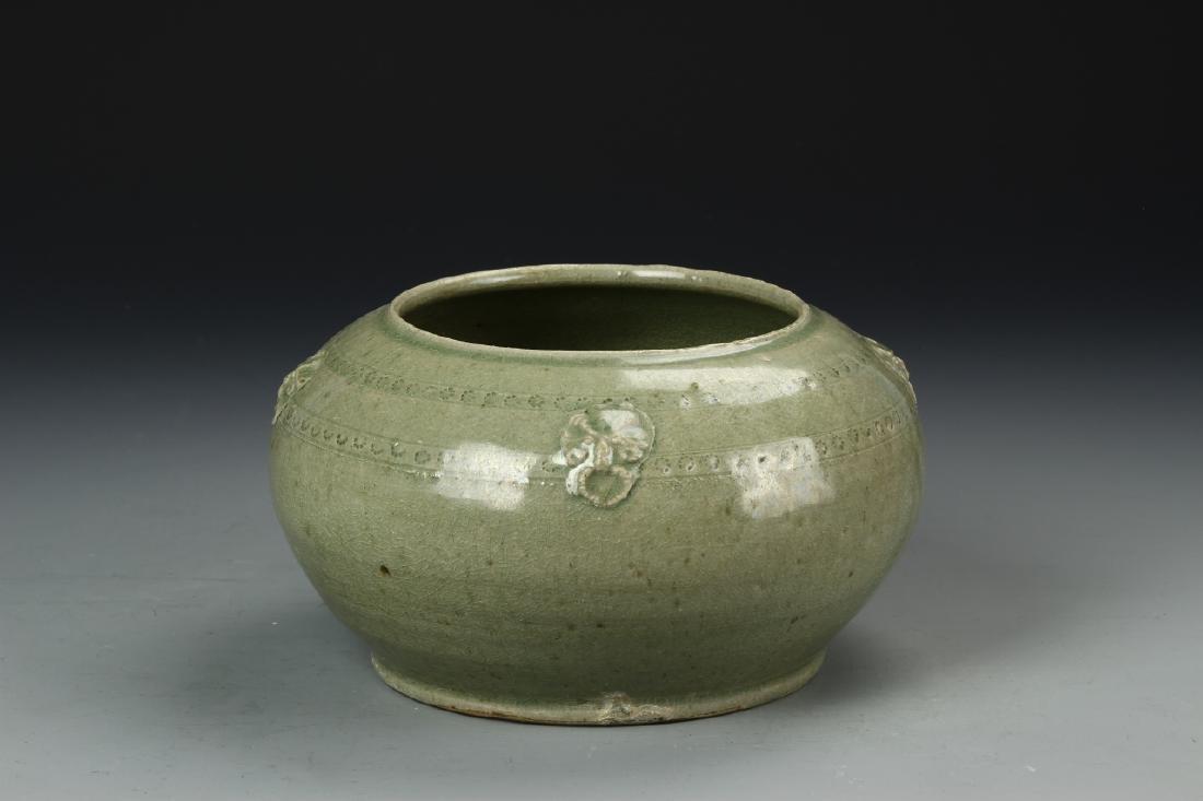 Chinese Yue Yao Jar