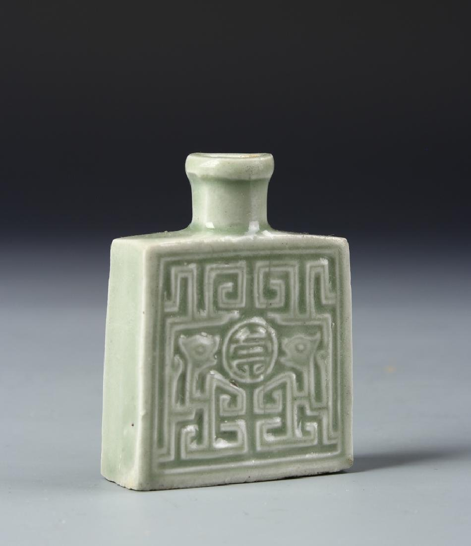 Chinese Lungquan Snuff Bottle - 2