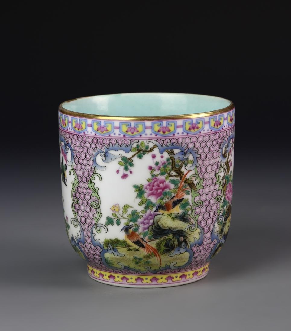 Chinese Enameled Mug