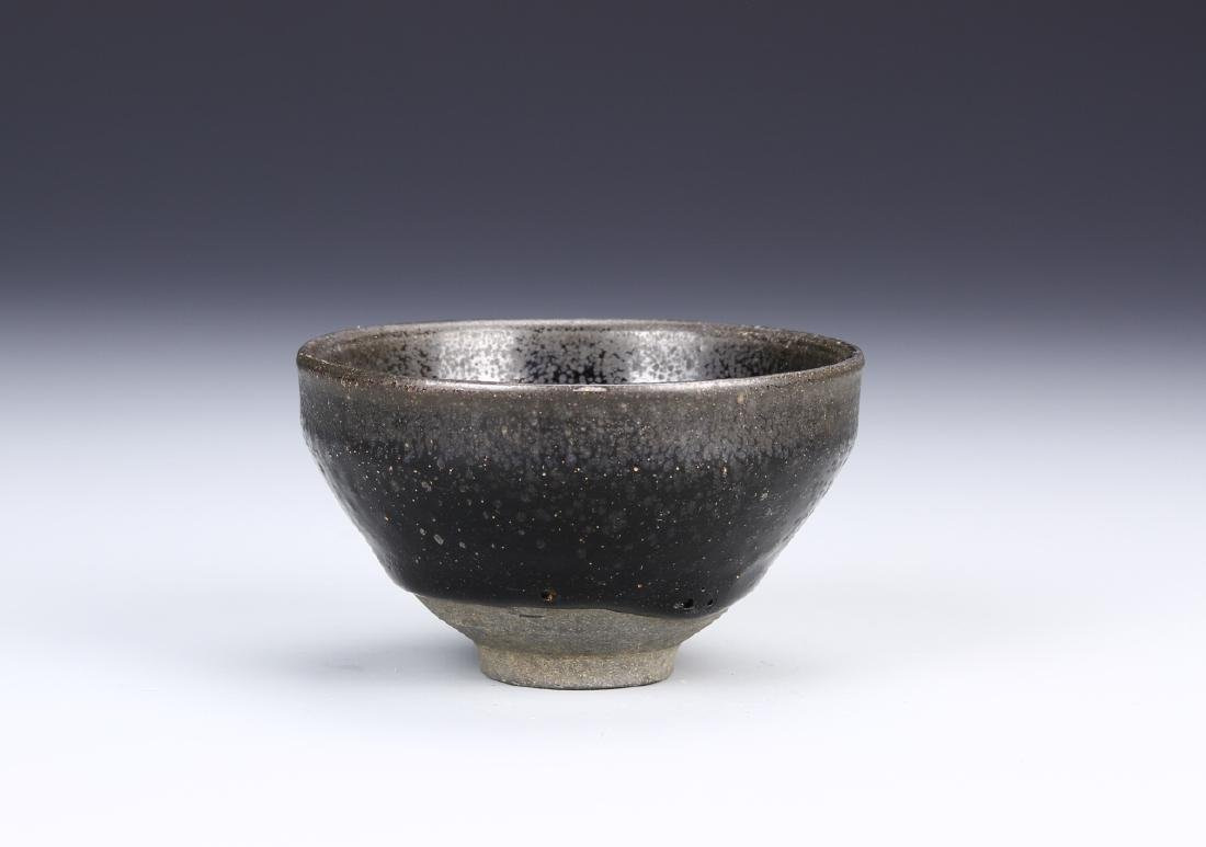 Chinese Oil Dropped Glazed Bowl