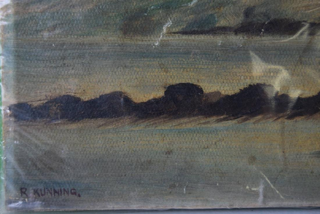 Oil Painting On Board - 3