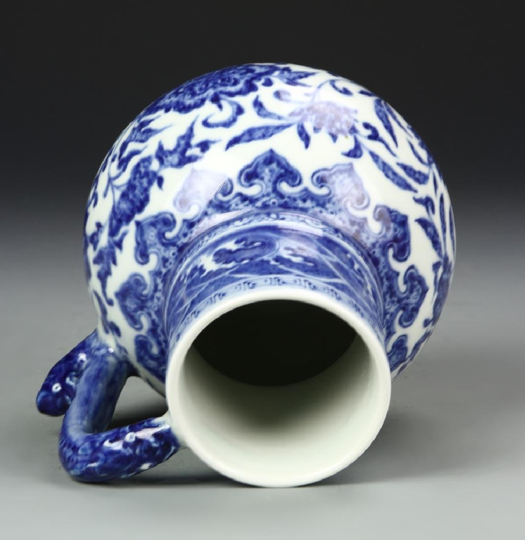 Chinese Blue and White Pitcher - 5