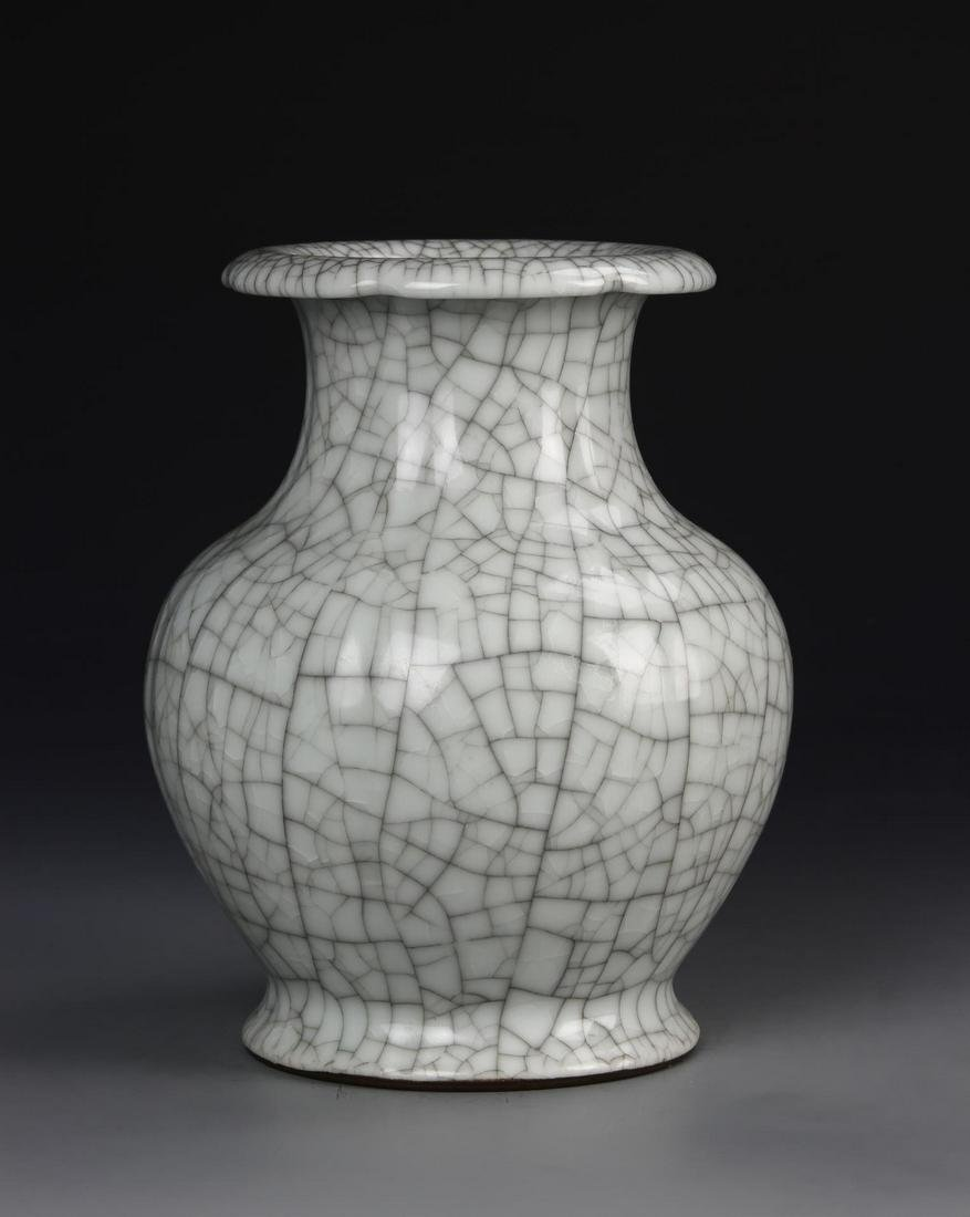 Chinese Geyao Vase
