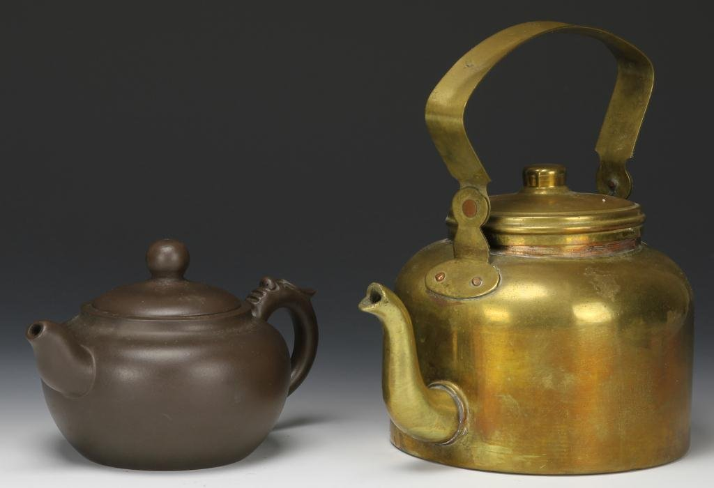 Chinese Teapots: Bronze and Metal