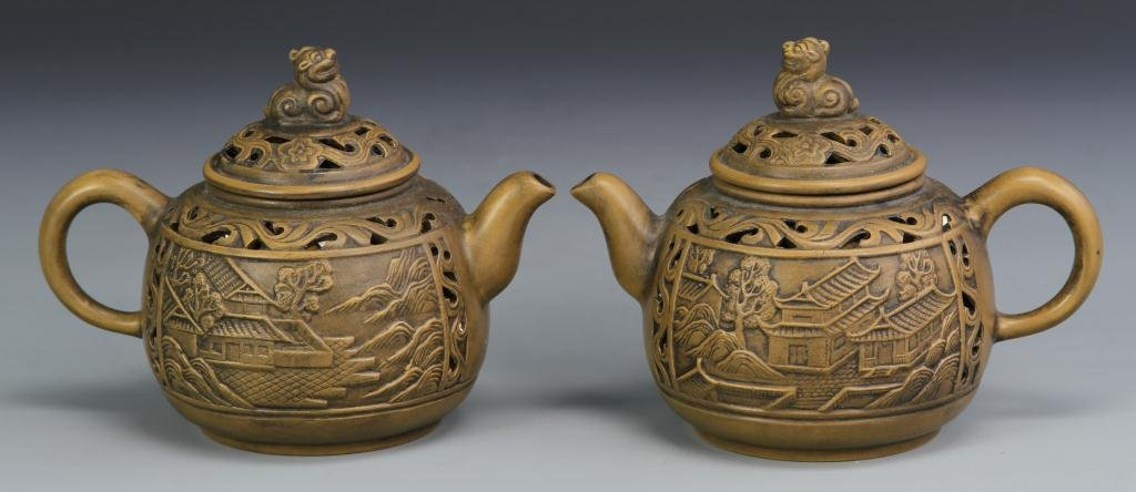 Chinese Yixing Teapots