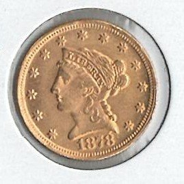 U.S. 1878 Gold Coin