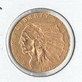 U.S. 1908 Gold Coin