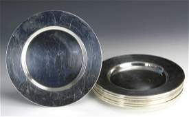 Sterling Silver Reed and Barton Dessert Plates