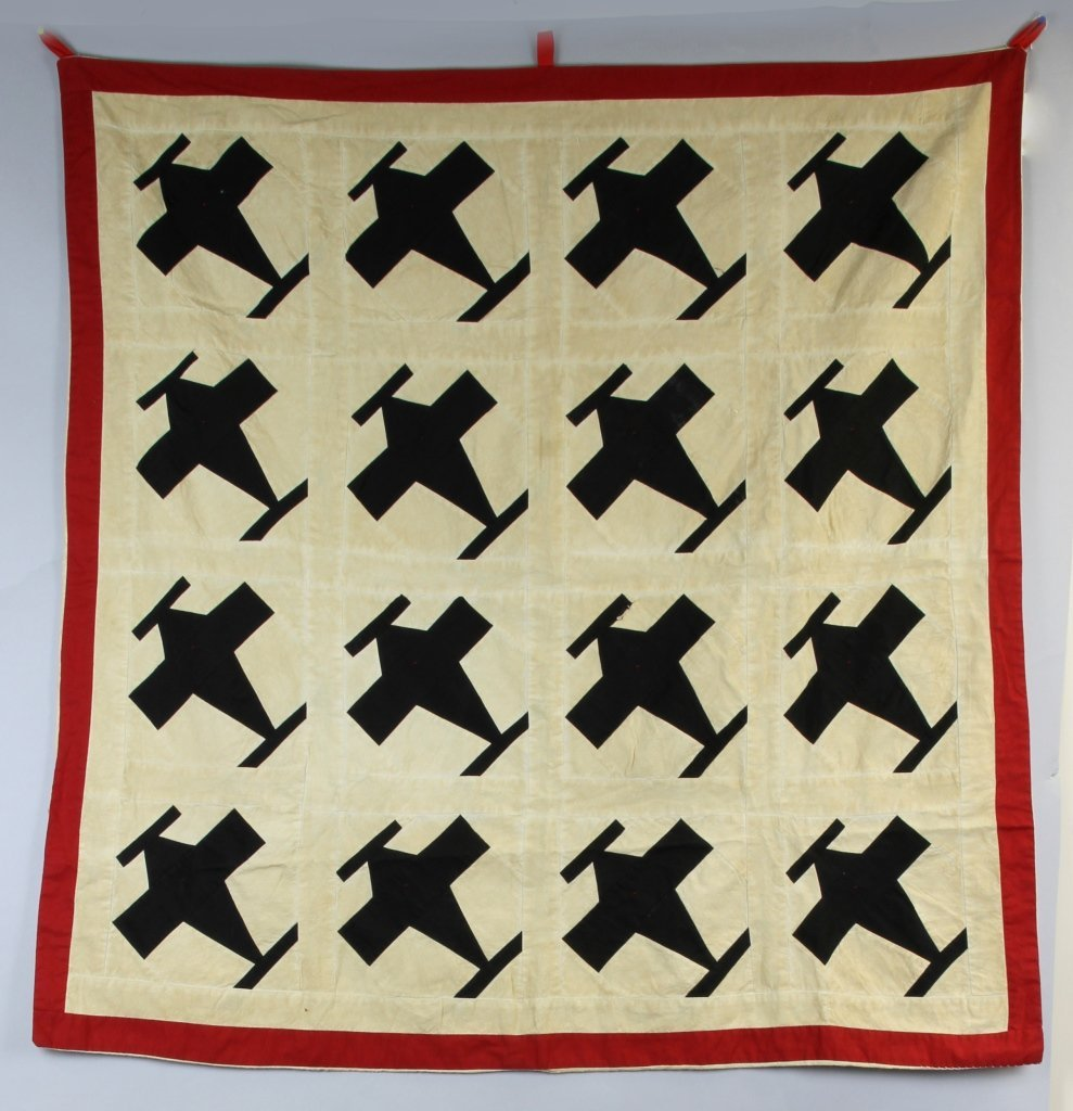 WWII Spotter's Quilt