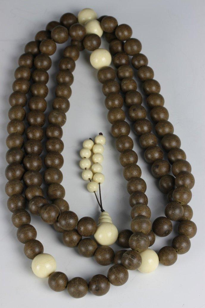 Chinese Chenxiang Aloeswood Prayer Beads