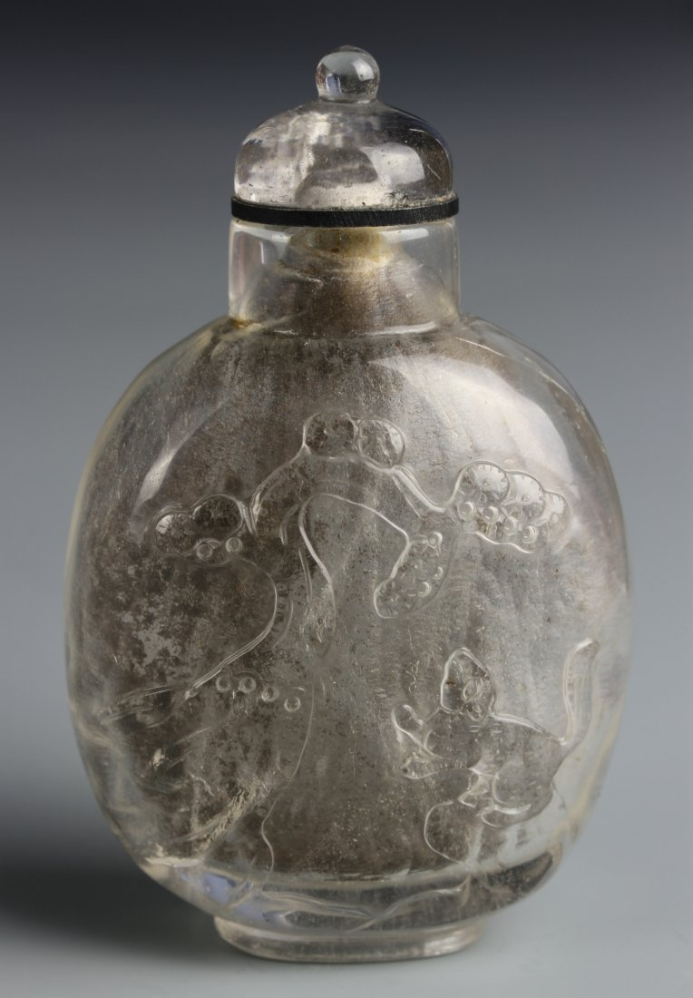 Chinese Crystal Snuff Bottle