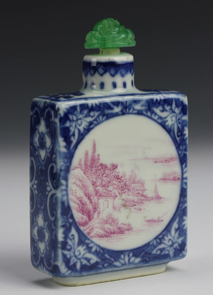 Chinese Porcelain Snuff Bottle