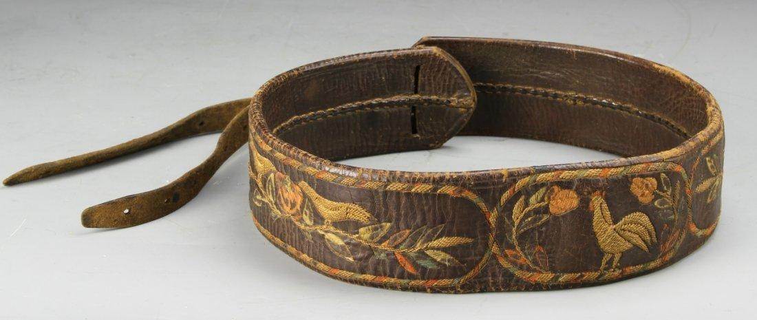 Eighteenth Century Leather Belt
