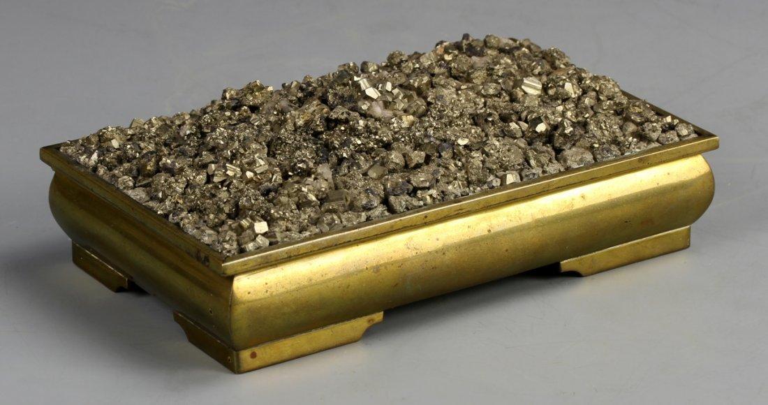 American Iron Pyrite Box
