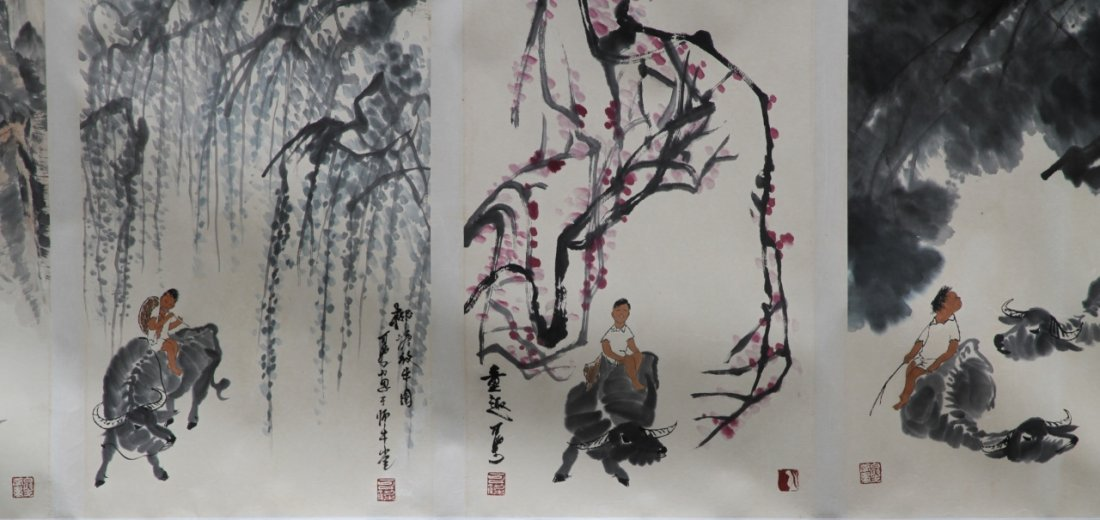 Chinese Hand Scroll Painting