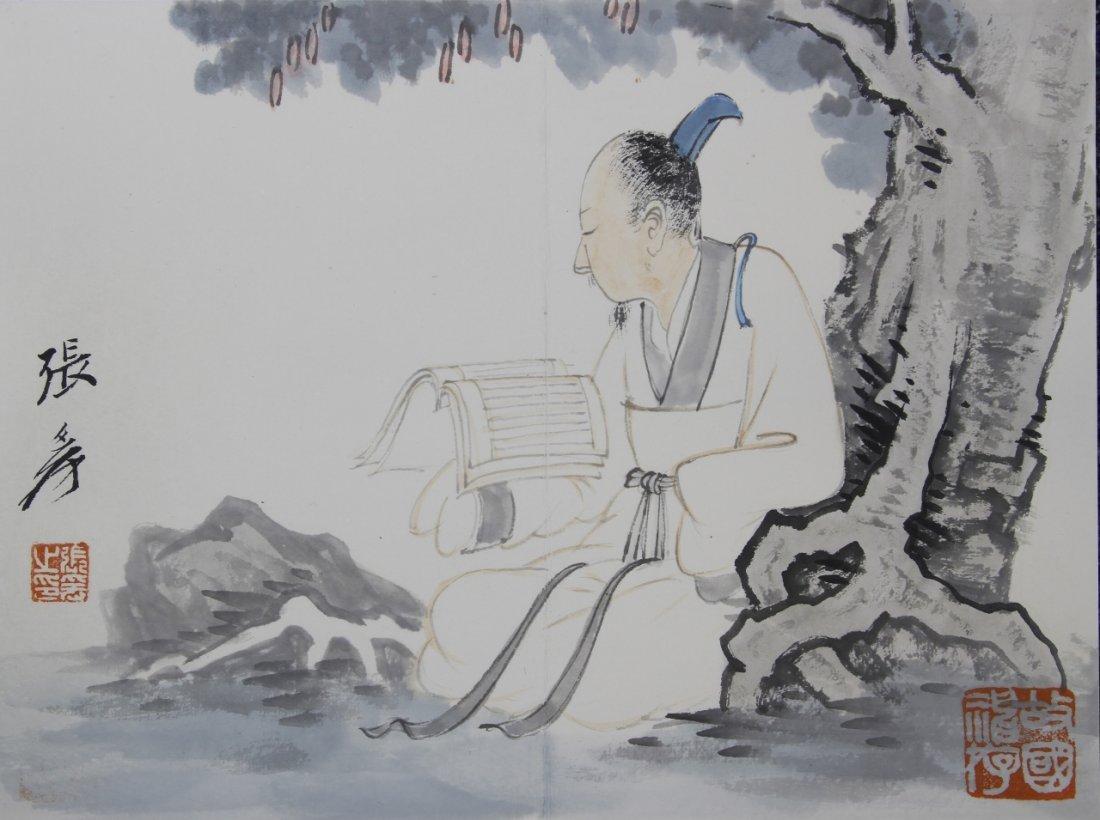 Chinese Album Painting, Zhang Da Qian