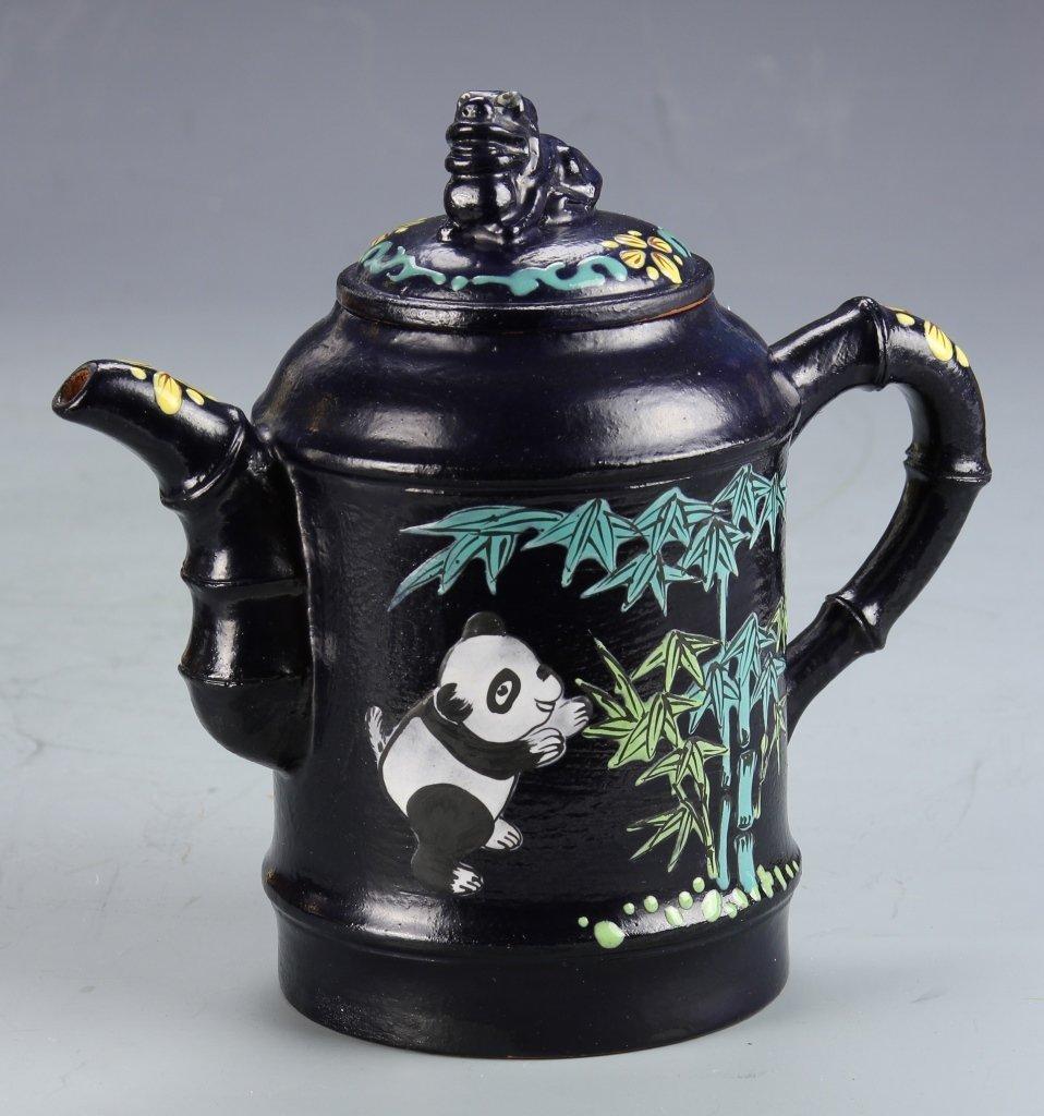 Chinese Yixing Glazed Teapot