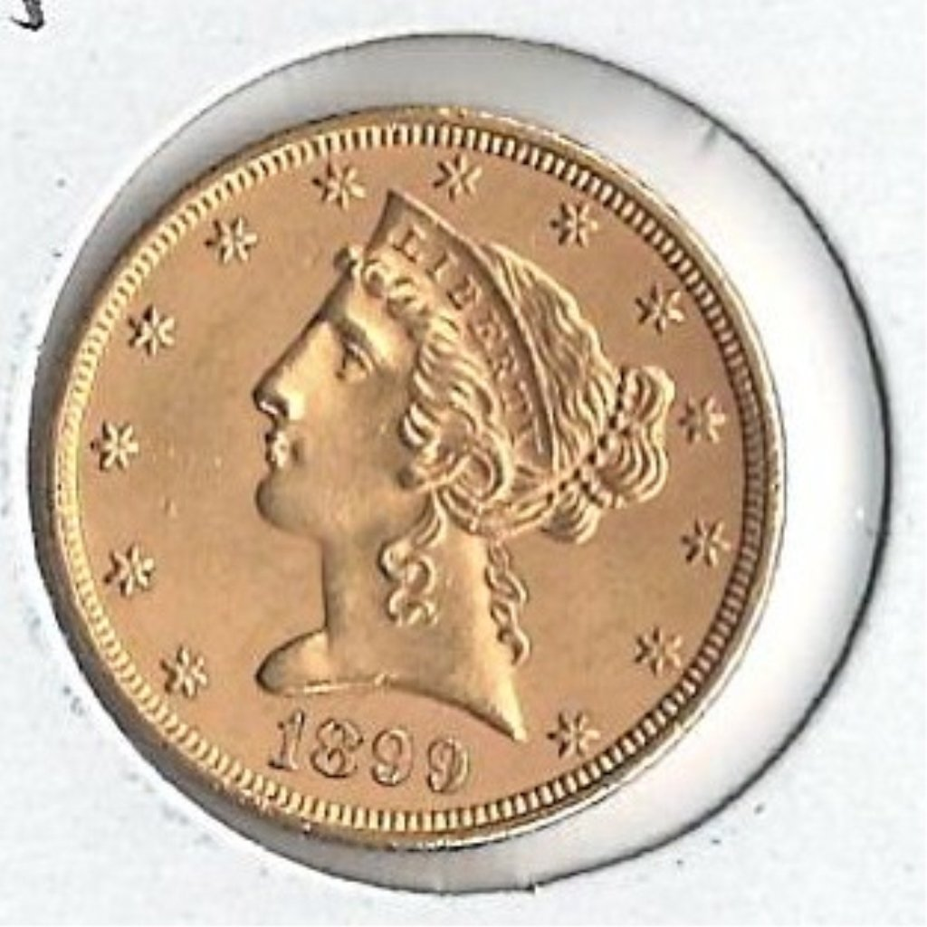 U.S. 1899 Gold Coin - 2