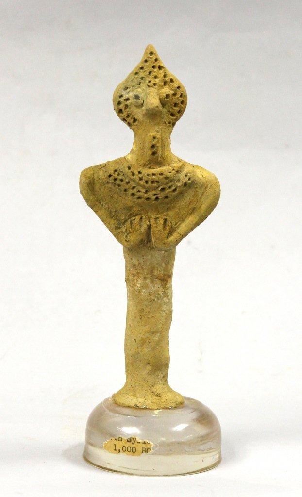 Babylonian Astarte Pottery Figure