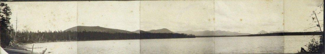 Panoramic Photo of Moosehead Lake