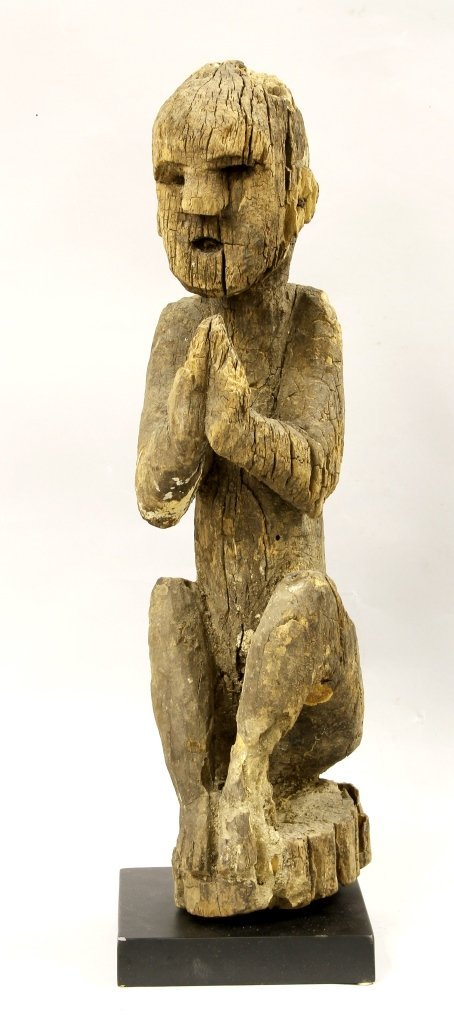 Nepalese Shamanistic Wood Figure
