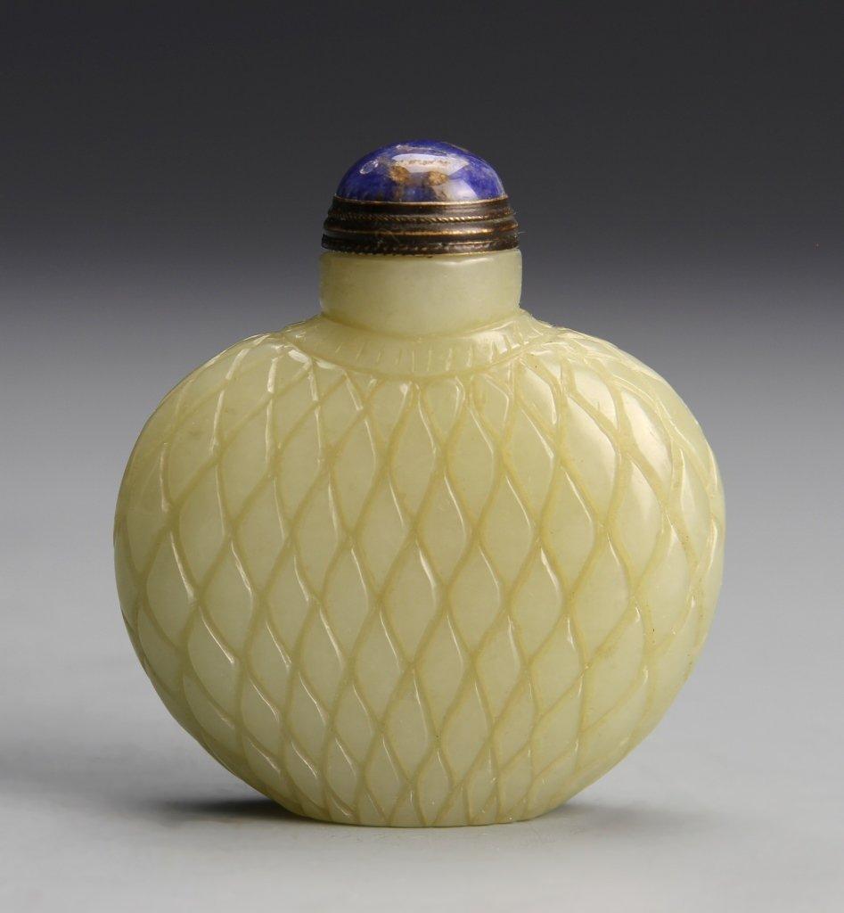 Chinese Jade Snuff Bottle