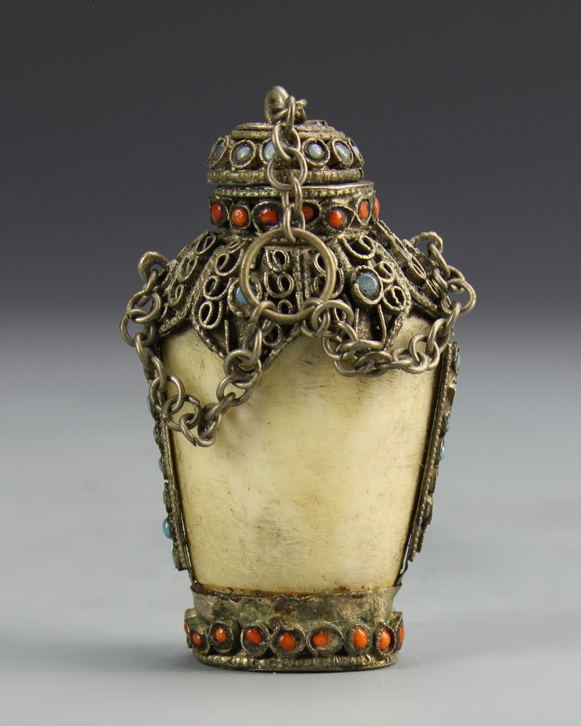 Chinese Metalwork Snuff Bottle