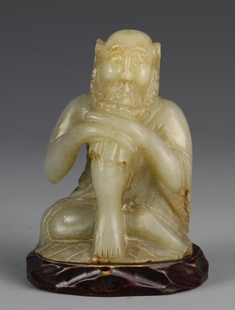 Chinese Antique Jade Buddha