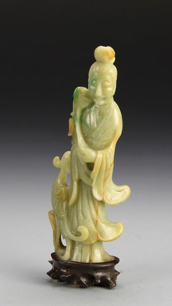 Chinese Jadeite Guanyin