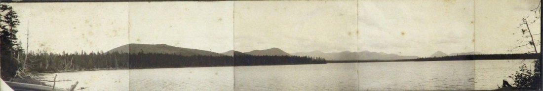 Panoramic Photo of Moosehead Lake