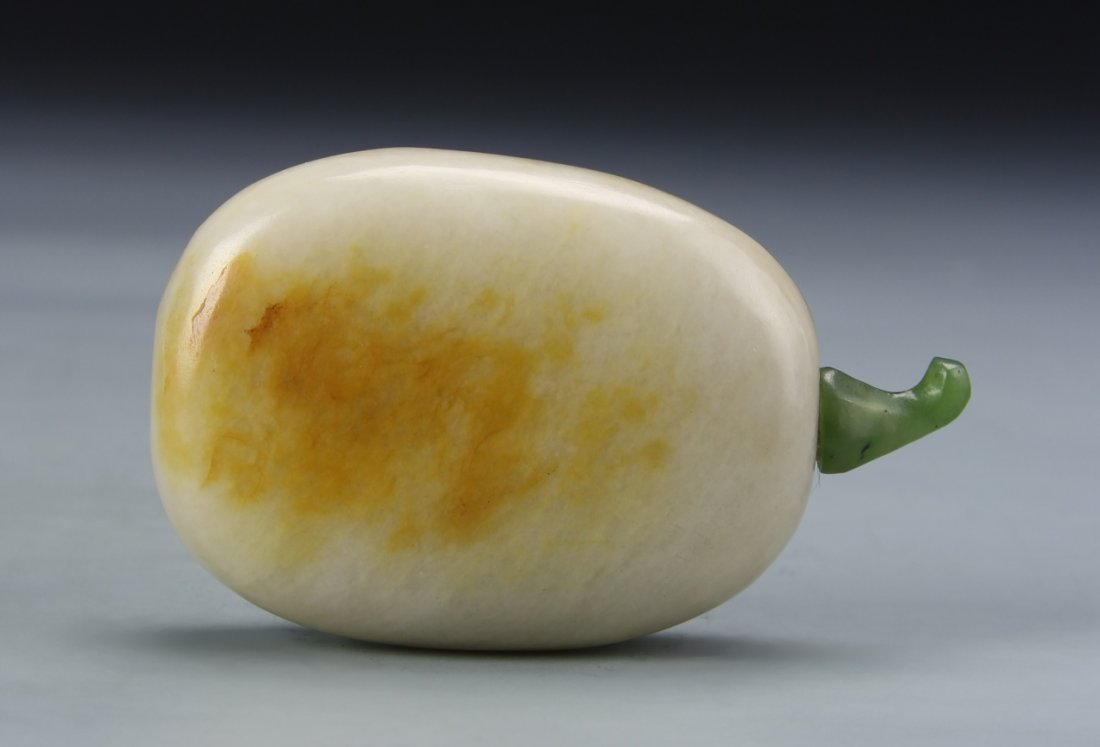 Chinese Jade Pebble Snuff Bottle