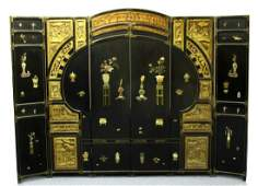 Chinese Antique Six-Panels Room Divider