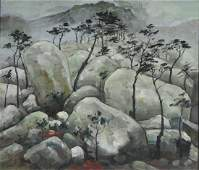 Chinese Landscape Oil Painting
