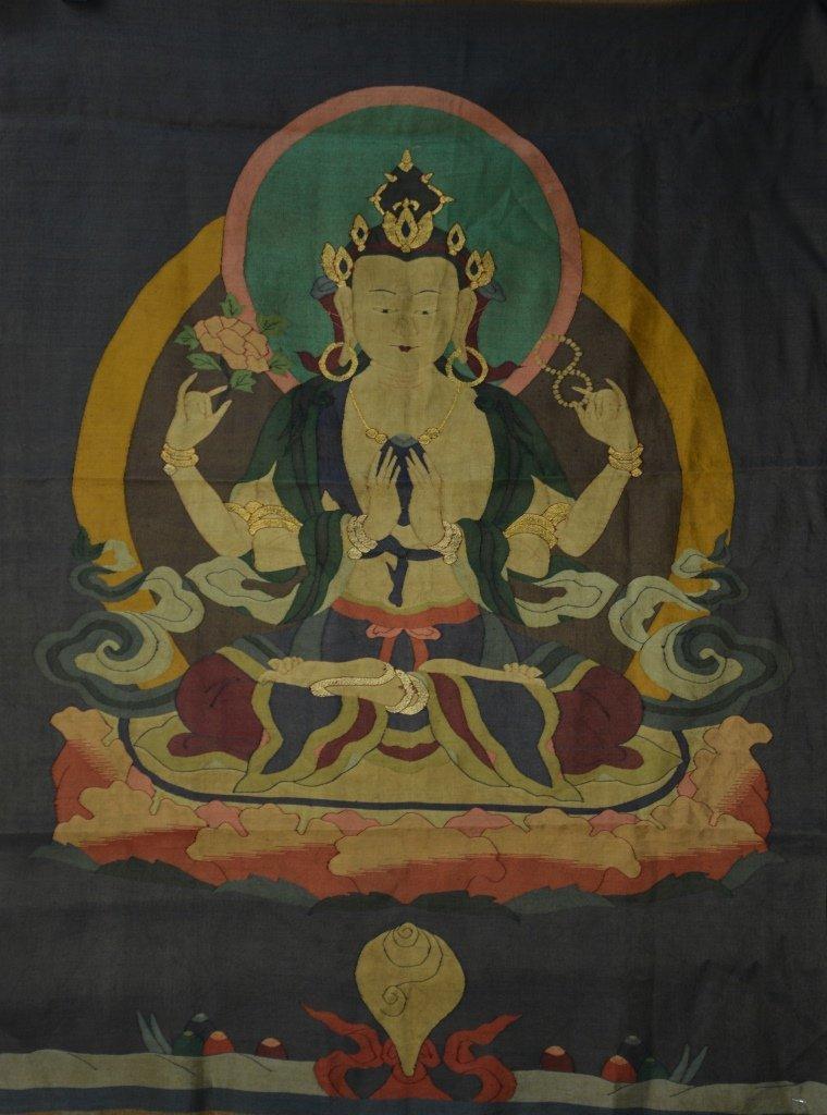 Tibetan Kesi Thangka